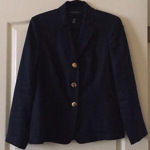 Ralph Lauren navy linen blazer 8